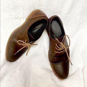 KS2 - Men's Brown Leather Shoes